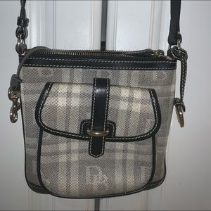 Vintage Dooney and Burke Signature Crossbody Bag